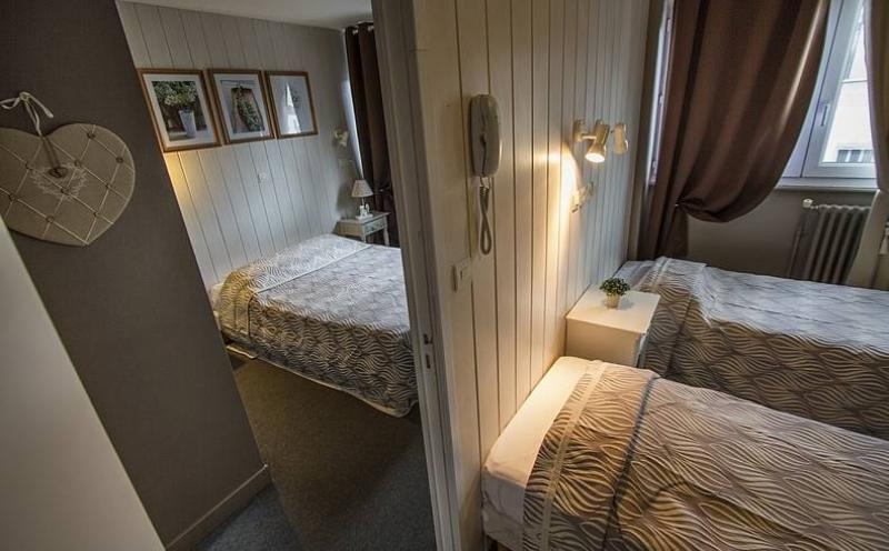 Chambres de l 39 h tel de londres boulogne sur mer - Chambre familiale londres ...